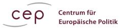 Logo CEP - Centrum für europäische Politik