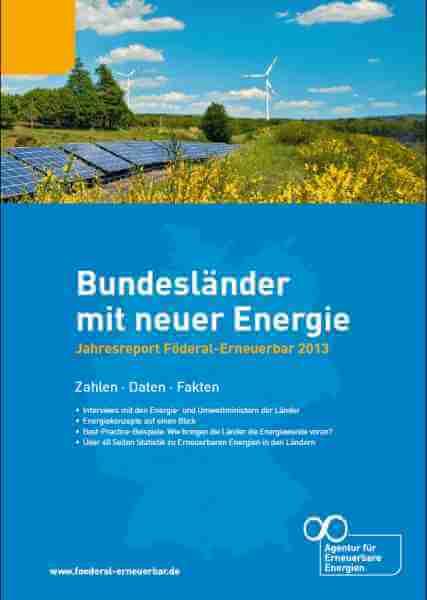 Cover Jahresreport 2013 Föderal Erneuerbare