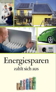 """Cover Merkblatt """"Energiesparen zahlt sich aus"""""""