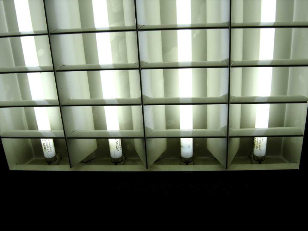 Bild einer alte Beleuchtung in Unternehen