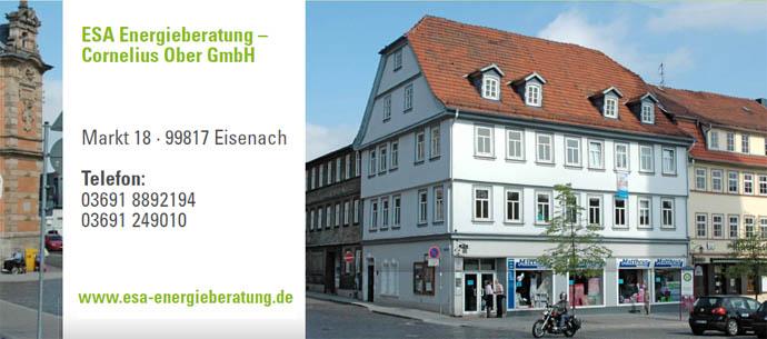 Foto Büro ESA-Energieberatung Marktplatz Eisenach