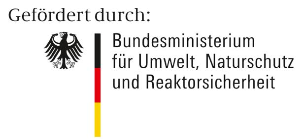 Logo Bundesministerium für Umwelt, Naturschutz und Reaktorsicherheit (BMU)