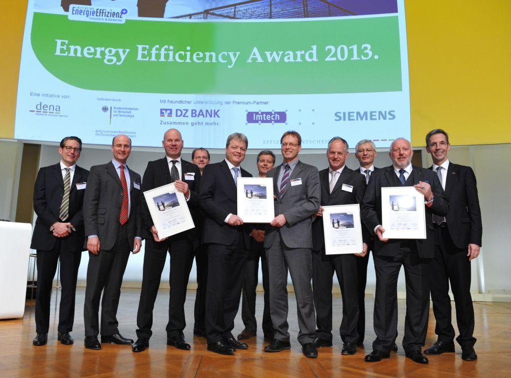 Foto Energy Effiecieny Award-Gewinner 2013