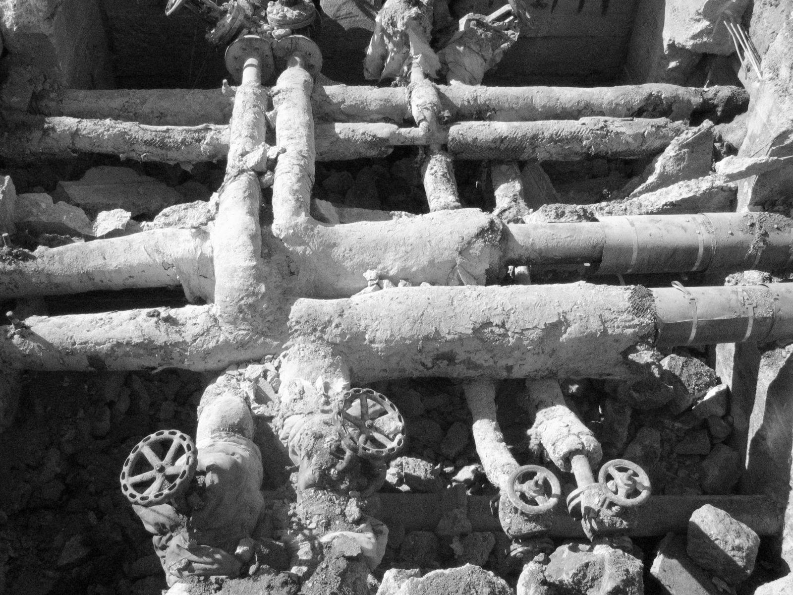 Alte Wasserleitung