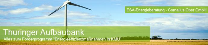Thüringer Aufbaubank Förderpgroamm für KMU