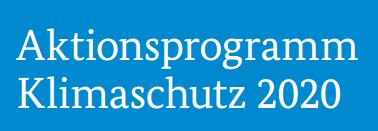Logo – Aktionsprogramm Klimaschutz 2020