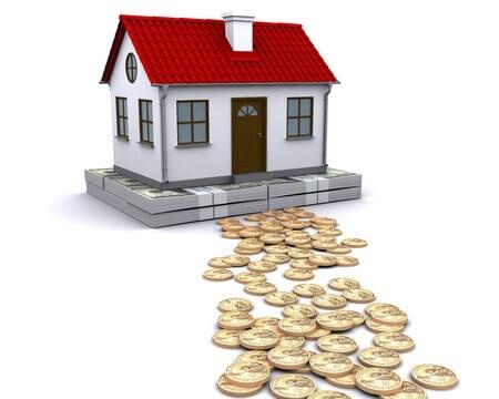 Haus mit Geld