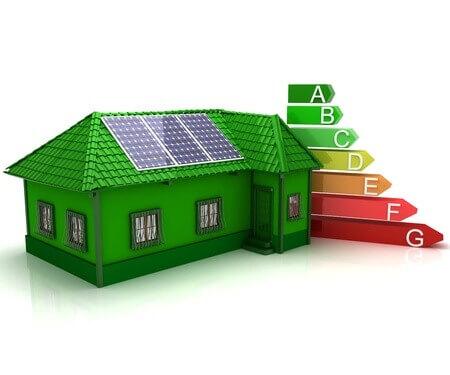 Energieeffizientes Wohnhaus