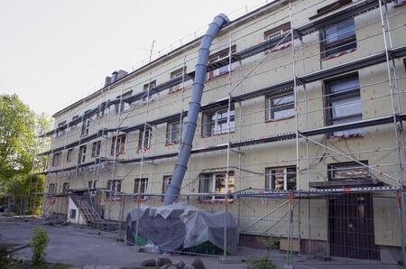Energetische Sanierung Mehrfamilienhaus
