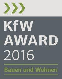 """Logo KfW-Award """"Bauen und Wohnen"""""""