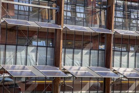 Solaranlage an Bürogebäude