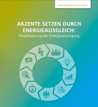 """Cover """"Akzente setzen durch Energieausgleich: Flexibilisierung der Energieversorgung"""""""