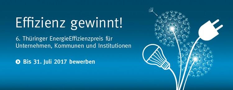 Thüringer Energieeffizienzpreis 2017