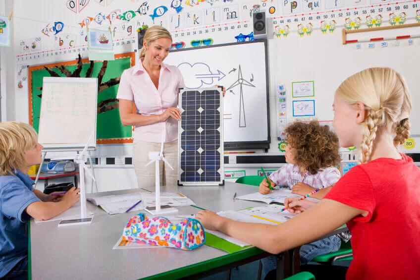 Solar in der Schule