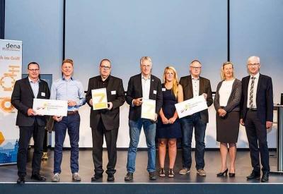 Osnabrück und Geestland bei der Auszeichnung