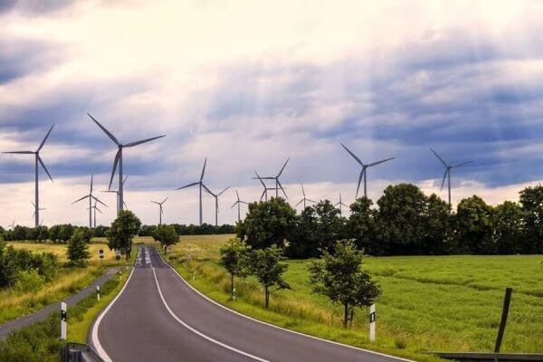 Windkraft auf dem Land