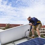 Installation einer Solaranlage