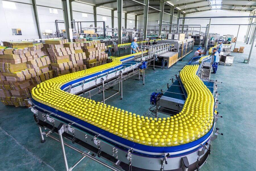 Anlage für die Getränkeproduktion