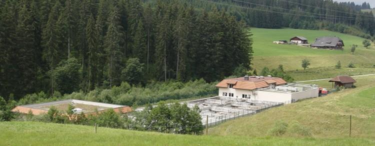Kläranlage der Rothaus Brauerei