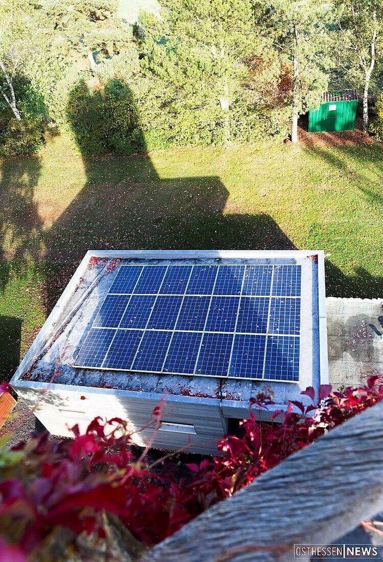 Solaranlage auf Eichenzeller Warttum
