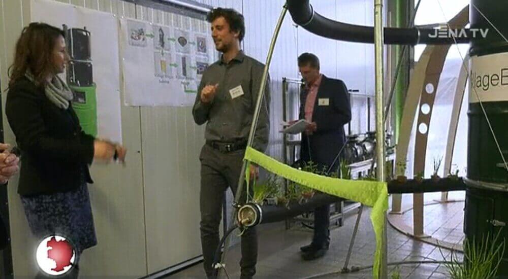 Biogasanlage Bioenergie Verbund Jena