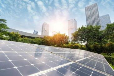 Bild fuer Förderinitiative 'Solares Bauen/Energieeffiziente Stadt'