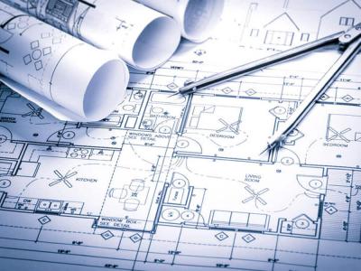 Technischer Plan für Gebäudeausrüstung