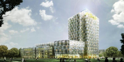Smart Green Tower in Freiburg