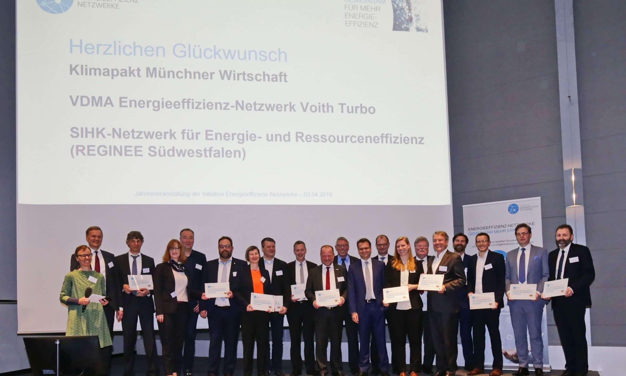 Erfolgreichste Energieeffizienz-Netzwerke 2018