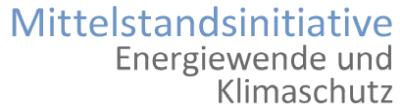 Logo Mittelstandsinitiative – Energiewende und Klimaschutz