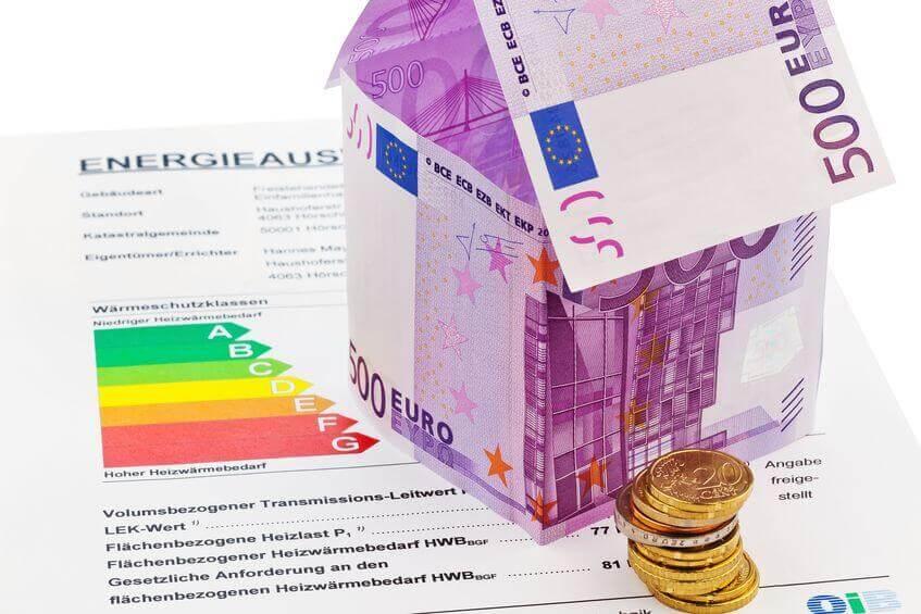 Geld und Energieausweis