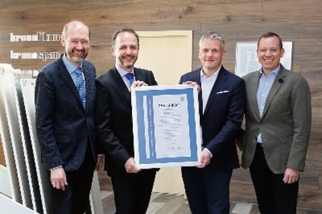 Kronospan erhält DIN ISO 50001-Zertifikat