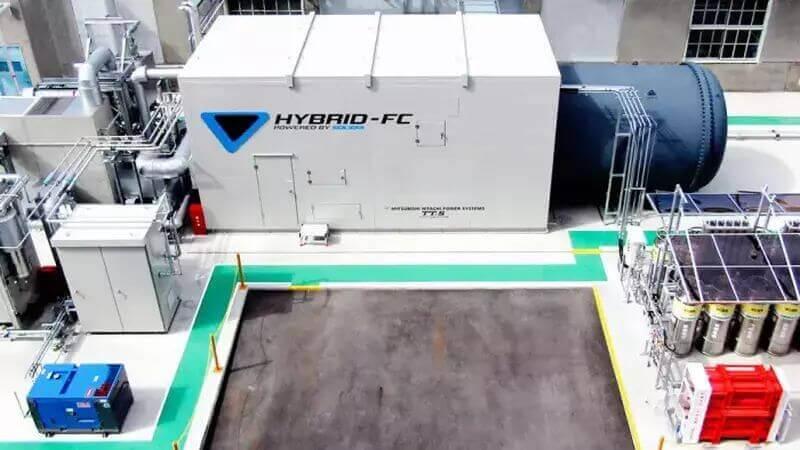 Brennstoffzellen-Blockheizkraftwerk von Toyota