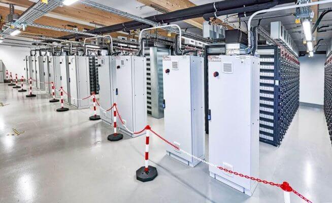 10 Megawatt Batteriespeicher
