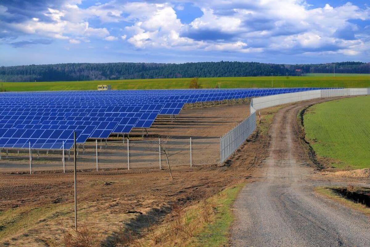 Solaranlage in Thüringen