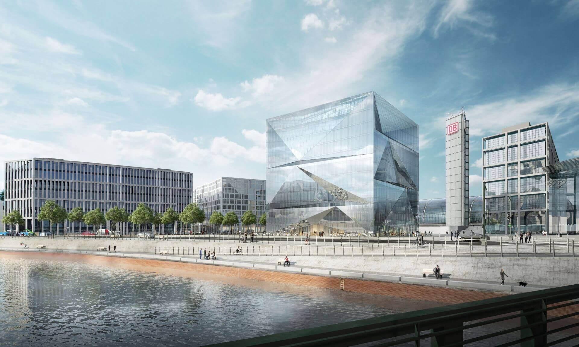 cube berlin Bürogebäude