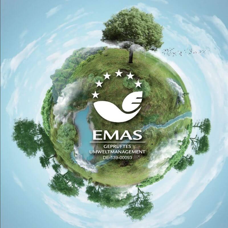EMAS-Umweltzertifikat