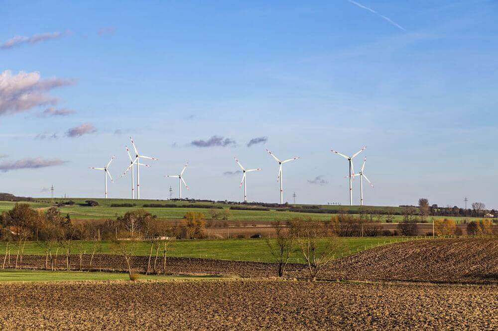 Windräder in Thüringen