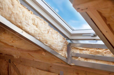 Dachfenster mit Dämmung