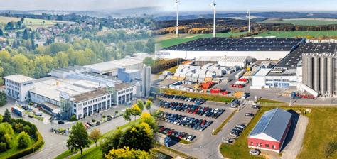 Unternehmensgebäude von Gealan Deutschland