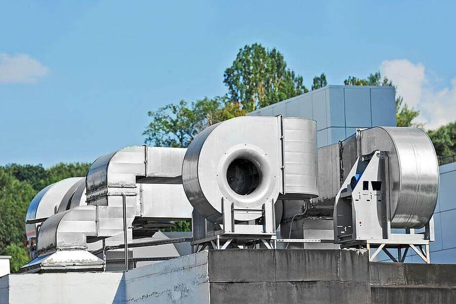 RLT-Anlage für Industrie