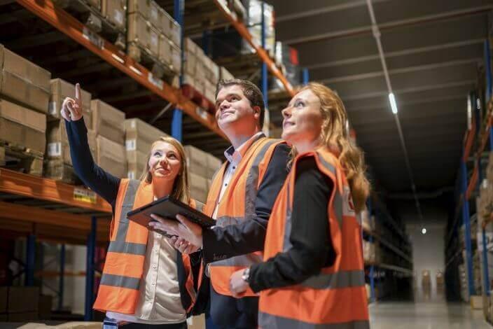 Team Energie von Fiege Logistik