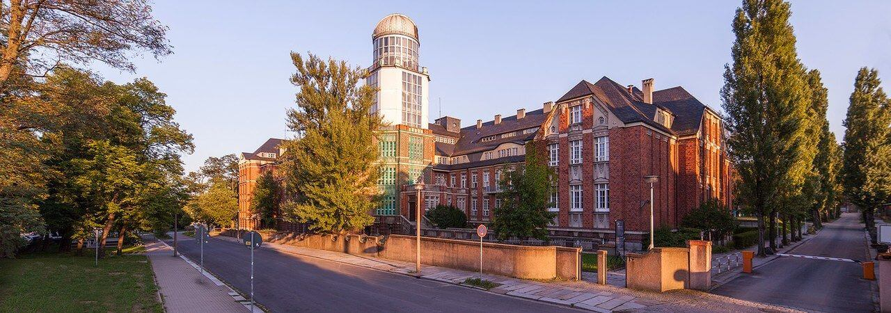 Panorama-Foto der TU Dresden