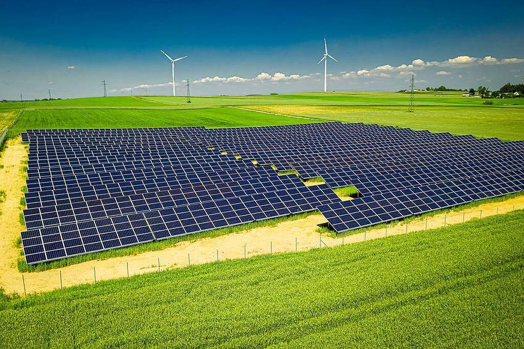 Solaranlage in der Landwirtschaft