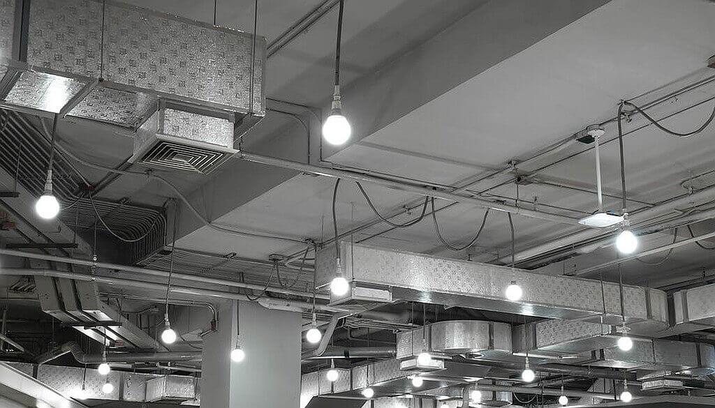 Energieeffiziente Hallenbeleuchtung mit LED-Technik