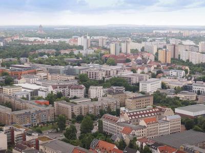 Alte Häuser in Leipzig