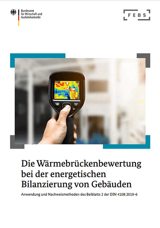 FEBS Cover zur Wärmebrückenbewertung